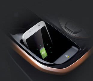 Система беспроводной зарядки смартфона