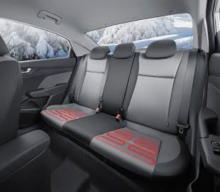Подогрев передних и задних сидений