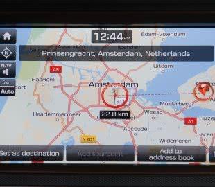 Навигационная система с 8-дюймовым дисплеем