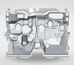 Трехслойная изоляция моторного отсека