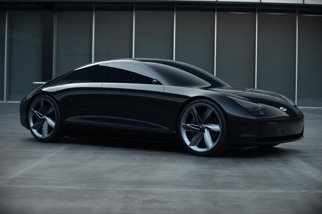 Prophecy - Hyundai показал электромобиль будущего - ЭкоТехника
