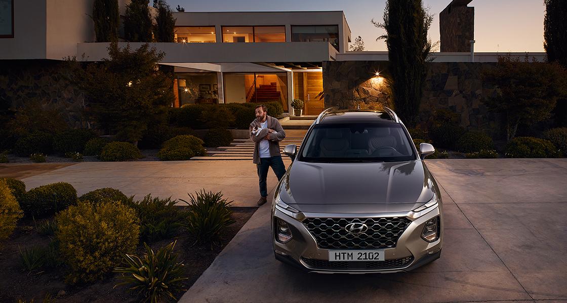 Hyundai New SANTA FE | Галерея, фото | Хюндай Мотор Украина - фото 26